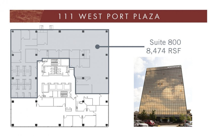 111 WPP Suite 800 - 8474 SF with bldg image (1)