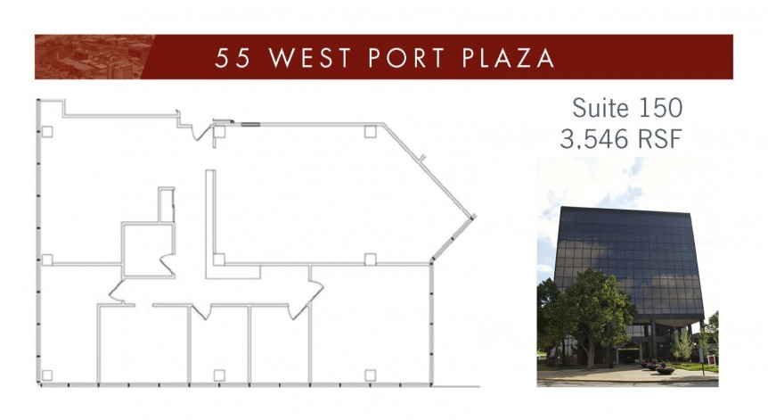 55 WPP Suite 150 - 3546 SF with bldg image