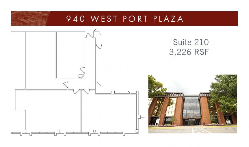 940 WPP Suite 210 - 3226 SF with bldg image